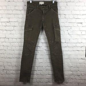 Current/Elliot cargo skinny jeans